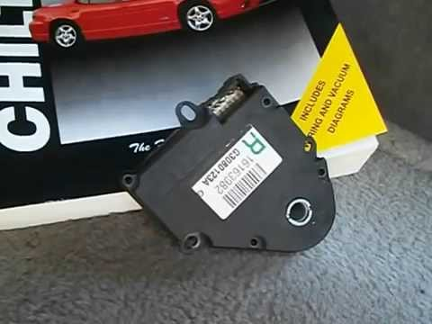 How to install a 1998 Buick Century Blend Air Door Actuator with Auto Climate Control Model 09352034