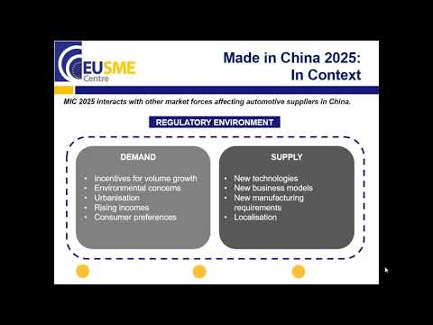 China's E mobility Drive Implications for European Automotive Suppliers