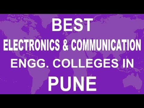 Best Electronics And Communication Engineering Colleges In Pune