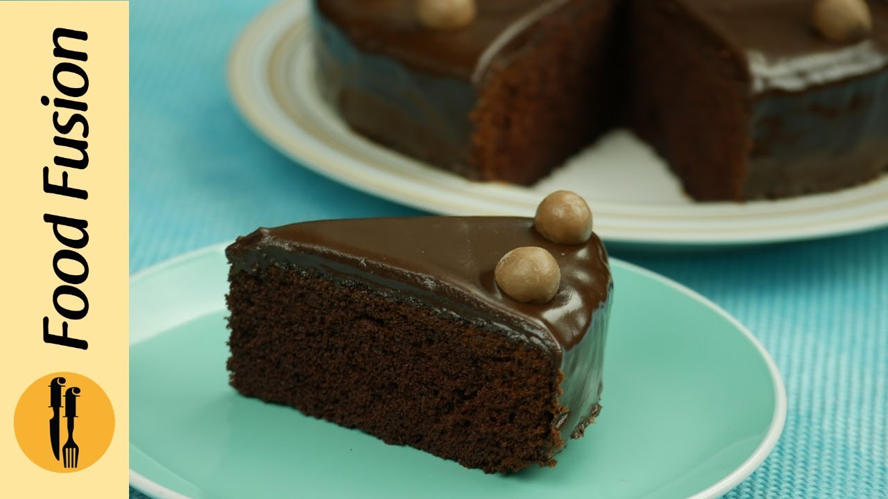 Chocolate Cake Recipe By Food Fusion Youtube