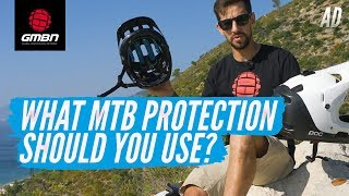 What MTB Protection Should You Use?   Mountain Bike Helmets And Pads