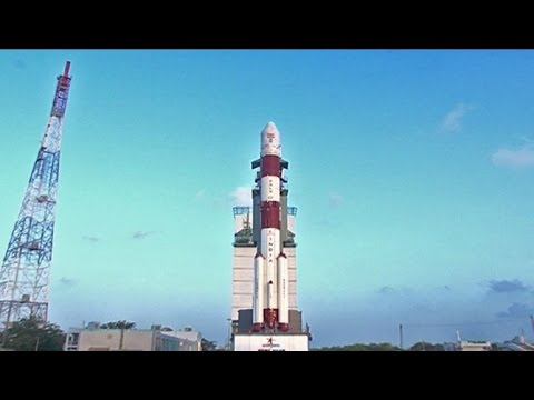 Watch: ISRO launches South Asia Satellite