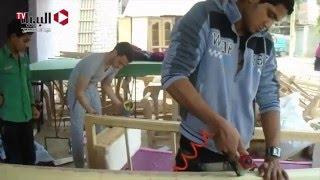 «تطريز المشغولات اليدوية».. ملاذ شباب بني سويف للعمل الحر