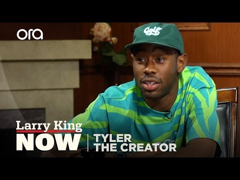 I'm Stoked I Didn't Know My Dad | Tyler the Creator | Larry King Now - Ora TV