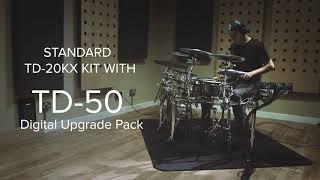Upgrade your existing V-Drums with TD-50DP Digital Upgrade Pack