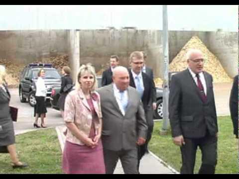 Vilkmerge.lt: Ukmergėje lankėsi Latvijos ministras pirmininkas