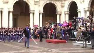 """Accademia Militare di Modena - Giuramento 195° Corso """"Impeto"""" - 04.04.2014"""