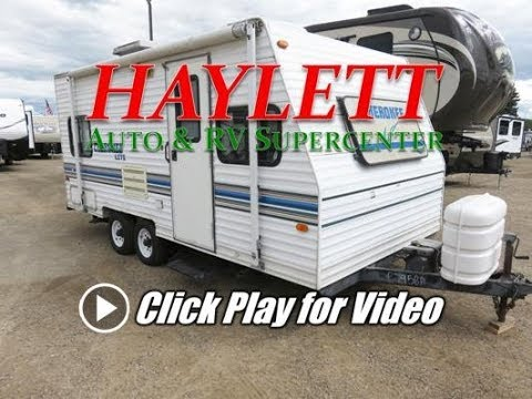 HaylettRV - 2000 Cherokee Lite 19N Used Small Travel Trailer by Forest River RV