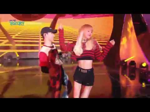 "161226 BLACKPINK Lisa ""Street Dance"" @ SBS Gayo Daejun (Opening Show Rehearsal) #1"