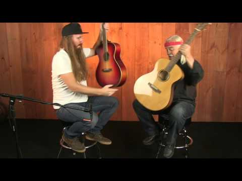 Homegrown Comparison with Tom Bedell - Adirondack Vs Sitka Spruce Top