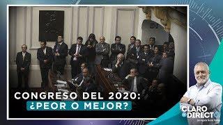 Congreso del 2020: ¿peor o mejor? | Claro y Directo con Augusto Álvarez Rodrich