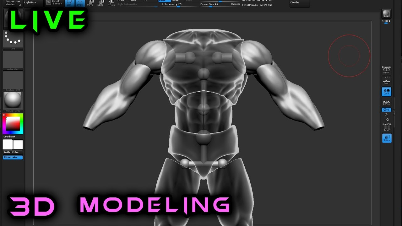 Making An Action Figure From Scratch 3d Modeling In