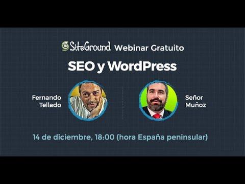 SEO a discreción  - webinar con Fernando Tellado y Sr. Muñoz