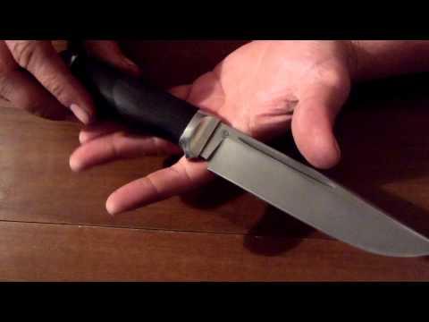 Нож из стали Elmax. Тестирование ножа из порошковой стали