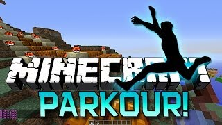 Minecraft: Epic Parkour Racing w/Mitch, Ashley, Bodil and Simon!