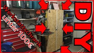 Werkstattschrank, Werkzeugschrank [ super einfach ] selber bauen 11# Folge Repair & Mehr