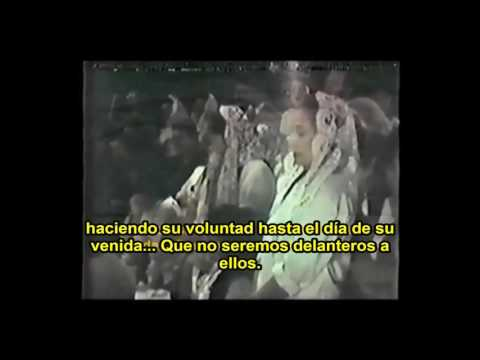 Sepelio Hna Elisa Flores 1985 Apóstol S. J. F.