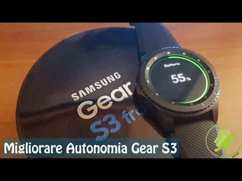 I 14 metodi per migliorare l'autonomia del Samsung Gear S3 - Androidare ITA