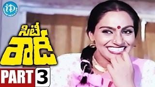 City Rowdy Full Movie Part 3 || Rajasekhar, Madhavi || M Karnan || Sankar Ganesh