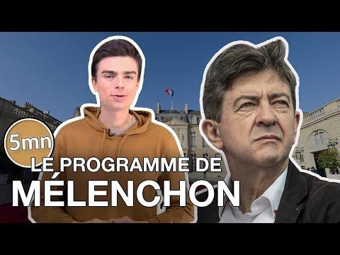 LE PROGRAMME DE MÉLENCHON - 5 minutes pour décrypter