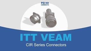 ITT VEAM CIR Connector Series
