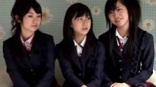 大島優子・小野恵令奈・河西智美.