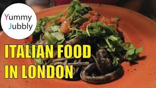 Italian Restaurant In London Bridge (giuseppe's Ristorante Italiano) Food Vlog #5