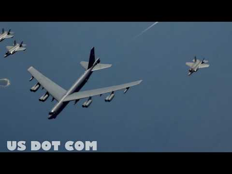 US Angry : U.S. Military Deploy 50 B-52 Bombers After Iran Threatens American Soldiers