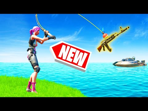 FISHING For LOOT CHALLENGE In FORTNITE 2!