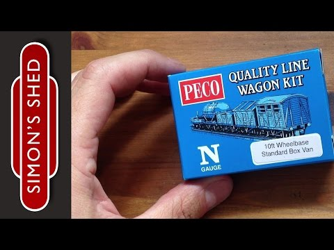 PECO Wagon kit challenge!