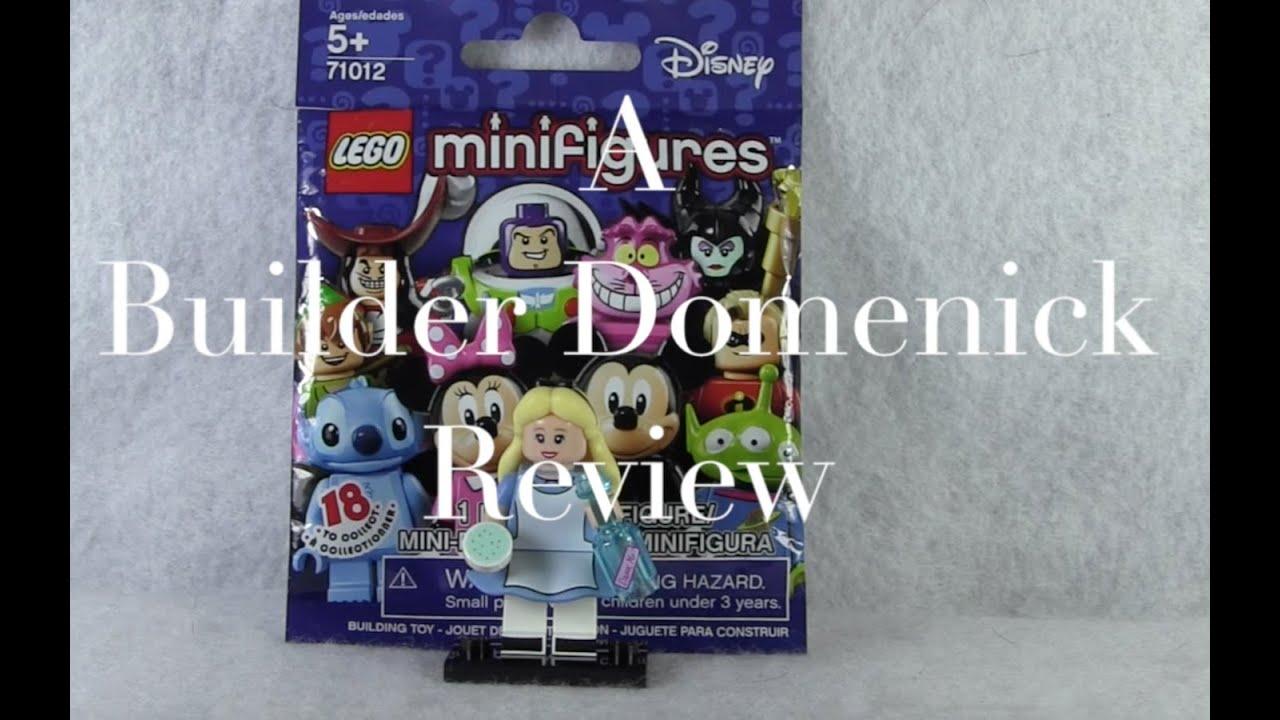 LEGO Alice in Wonderland Minifigure 71012 Disney Series