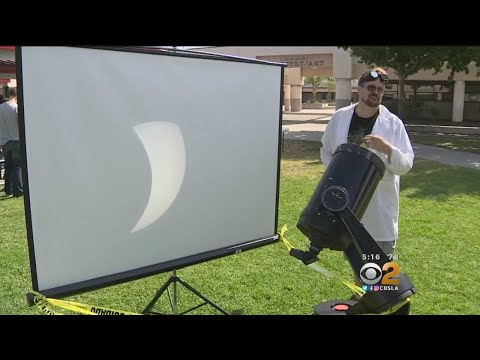 Eclipse Gives High School Students A Chance To Learn About Science In Real Time