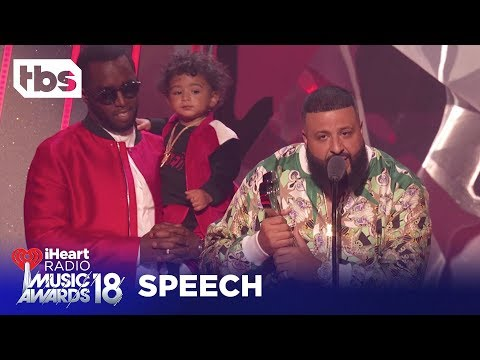 DJ Khaled: 2018 iHeartRadio Music Awards | Acceptance Speech | TBS