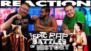 Alexander the Great vs Ivan the Terrible Epic Rap Battles of History REACTION!!