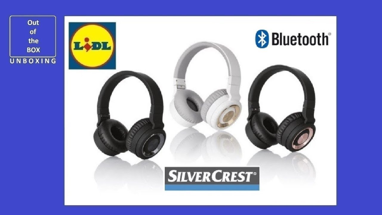 Silvercrest Bluetooth Kuulokkeet