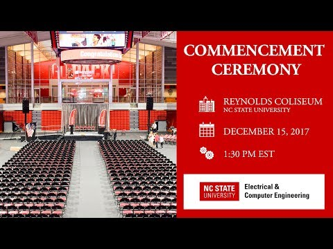 ECE Commencement (Fall 2017)