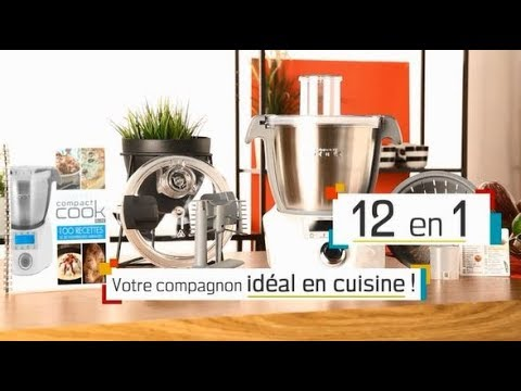 compact cook elite le robot de cuisine multifonction. Black Bedroom Furniture Sets. Home Design Ideas