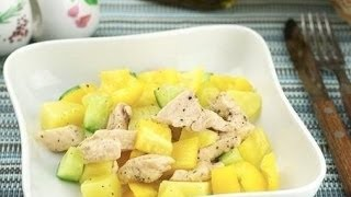 Салат из курицы и сладкого перца рецепт