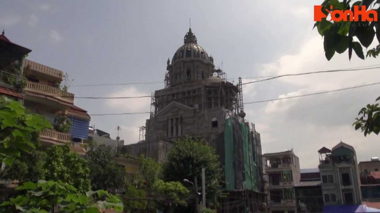 Thi công biệt thự pháp lâu đài tại Hà Nội – XayDungSonHa.com
