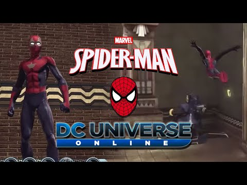 How To Make Spiderman In DC Universe Online