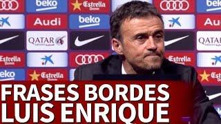 Las frases más irrespetuosas de Luis Enrique con la prensa | Diario AS