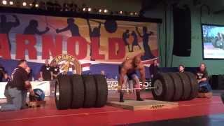 REKOR DUNIA DEADLIFT - 1.128 Pound / 511,6 Kg - pria Terkuat di dunia