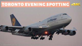 Toronto Evening Spotting! | B747, B777, B787, A330 And More | At Toronto Pearson (YYZ) 10/27/2019