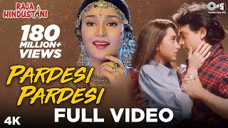You just can't miss the magic created by alka yagnik & udit narayan in superhit hindi song 'pardesi pardesi' highly emotionally packed from movie 'ra...