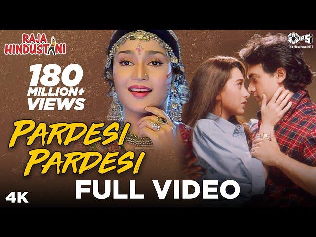 Pardesi Pardesi Full Video - Raja Hindustani | Udit Narayan & Alka Yagnik | Aamir & Karisma