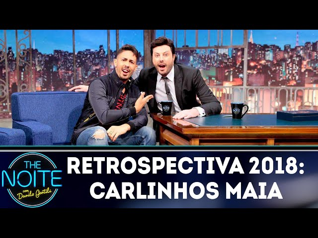 Retrospectiva 2018: Carlinhos Maia | The Noite (07/02/19)