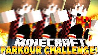 Minecraft - BAJANCANADIAN PARKOUR CHALLENGE! (iCrave Parkour) w/Preston