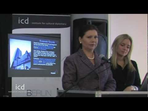 Nixia Lasso and Licda Laura Emerick - Promotion of Tourism in Panama - lecture - ICD
