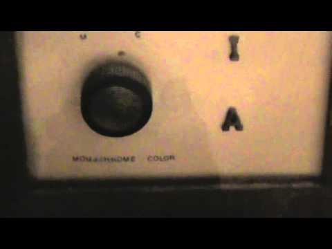 CBS Columbia Color TV Set 1951 Model CC2 Repro
