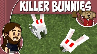 Minecraft Tutorial 1.8 - How To Summon Killer Rabbit Of Caerbannog ! ! !